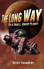 Cover of The Long Way to a Small, Angry Planet.