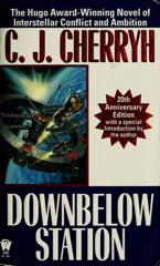 Cover of Downbelow Station.