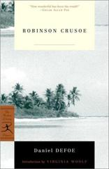 Cover of Robinson Crusoe.