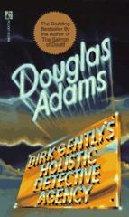 Cover of Dirk Gently's Holistic Detective Agency.
