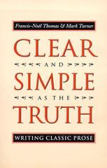 Cover of Clear and Simple as the Truth.