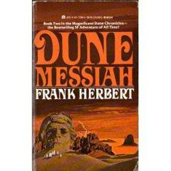 Cover of Dune Messiah.