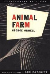 Cover of Animal Farm.