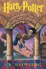 Cover of Harry Potter and the Sorcerer's Stone.