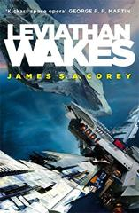 Cover of Leviathan Wakes.