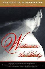 Cover of Written on the Body.