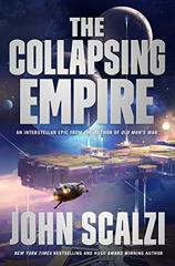 Cover of The Collapsing Empire.