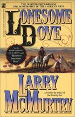 Cover of Lonesome Dove.
