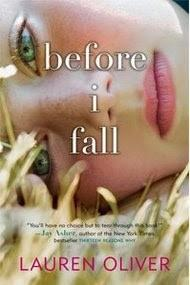 Cover of Before I Fall.