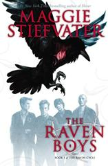 Cover of The Raven Boys.