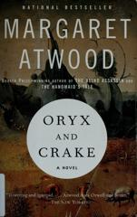 Cover of Oryx and Crake.