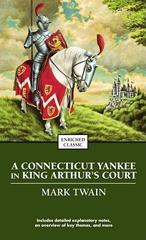 Cover of A Connecticut Yankee in King Arthur's Court.