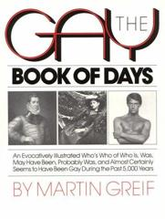 Cover of The Gay Book of Days.