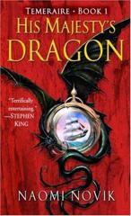 Cover of His Majesty's Dragon.