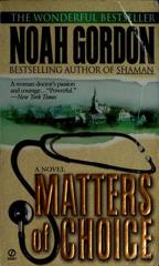 Cover of Matters of Choice.