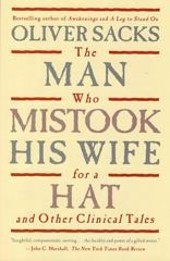 Cover of The Man Who Mistook His Wife for a Hat and Other Clinical Tales.