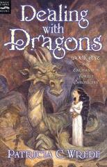 Cover of Dealing with Dragons.