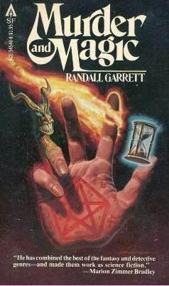 Cover of Murder and Magic.