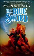 Cover of The Blue Sword.