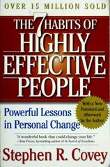 Cover of 7 Basic Habits of Highly Effective People.