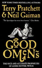 Cover of Good Omens: The Nice and Accurate Prophecies of Agnes Nutter, Witch.