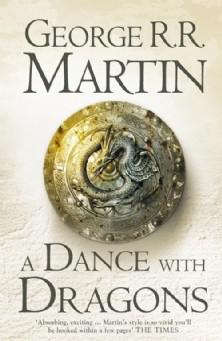 Cover of A Dance with Dragons (A Song of Ice and Fire, #5).