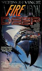 Cover of A Fire Upon the Deep.