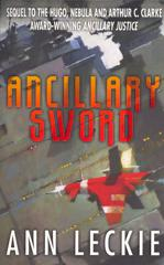 Cover of Ancillary Sword.