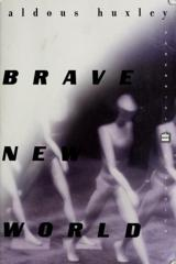 Cover of Brave New World.