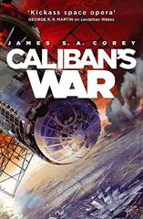 Cover of Caliban's War.