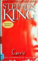 Cover of Carrie.