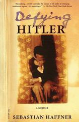 Cover of Defying Hitler.