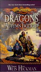 Cover of Dragons of Autumn Twilight.