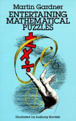 Cover of Entertaining Mathematical Puzzles.