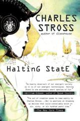 Cover of Halting State.