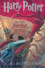 Cover of Harry Potter and the Chamber of Secrets.