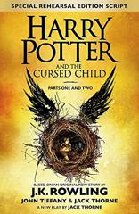Cover of Harry Potter and the Cursed Child: Parts One and Two.