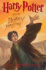 Cover of Harry Potter and the Deathly Hallows.