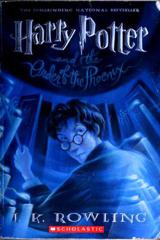 Cover of Harry Potter and the Order of the Phoenix.