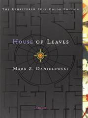 Cover of House of Leaves.