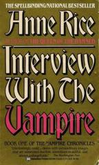 Cover of Interview with the Vampire.