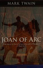 Cover of Joan of Arc.