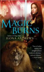 Cover of Magic Burns.