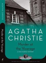 Cover of Murder at the Vicarage.