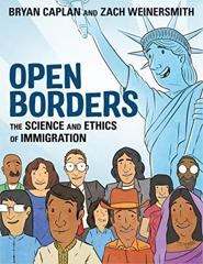 Cover of Open Borders: The Science and Ethics of Immigration.