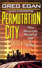 Cover of Permutation City.