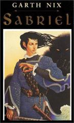 Cover of Sabriel.