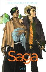 Cover of Saga, Vol. 1.