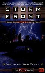 Cover of Storm Front.
