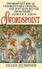 Cover of Swordspoint.